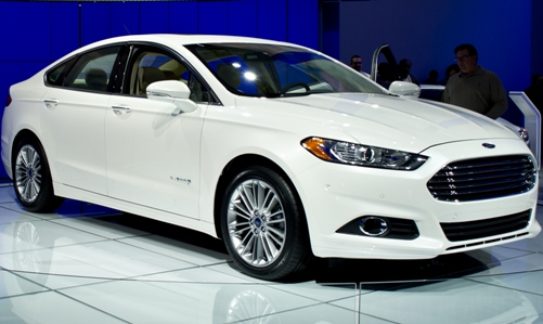 Automated Ford Fusion Hybrid Vehicle Research