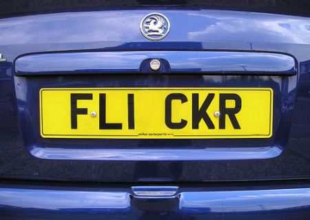 Can be personalized car number plates?