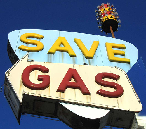 Five ways to save gasoline in city